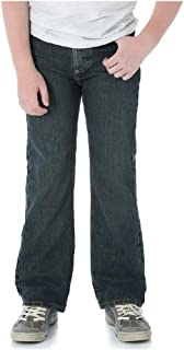 Wrangler Toddler Boys' Five Star Premium Denim Classic Boot Fit Jeans, Slim Fit (Medium Wash, 5 Slim)