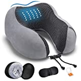 Best Travel Pillows - DYD Travel Pillow Memory Foam Neck Pillow Review