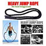 Fewear 11.8' Heavy Jump Rope Skipping Rope Workout Battle Ropes for Men Women Total Body Workouts...
