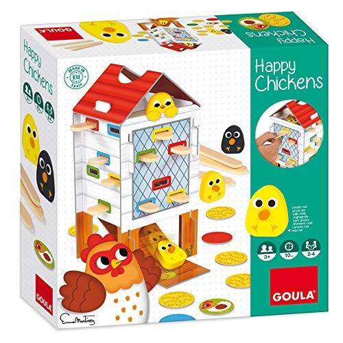 Goula - Happy chicken - Juego de mesa preescolar a partir de 3 años