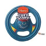 Hartz Tuff Stuff Toss Around Plush Frisbee Flyer Dog Toy - Medium/Large