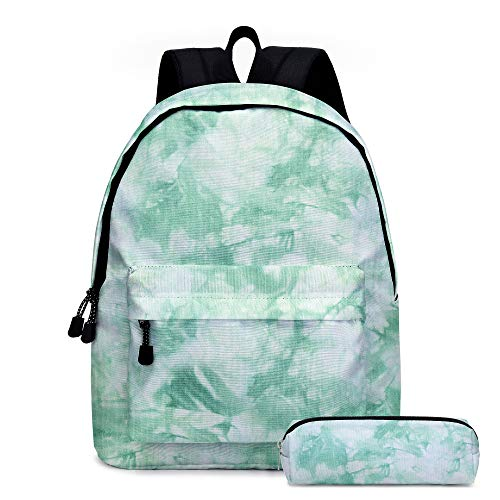 Lying 2020 Neue Sommer Tie-Dye Serie 2 Zweiteilige Schultasche Kindermahlzeit Tasche Pen Tasche