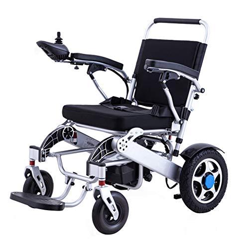 CGXYZ Hochleistungs-Elektrorollstuhl Faltbare und leichte Elektrorollstühle Maximale Tragfähigkeit 160 kg für ältere Menschen