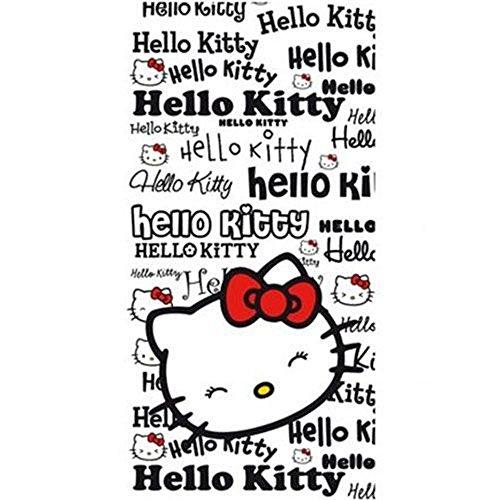 Toalla de baño, diseño de Hello Kitty