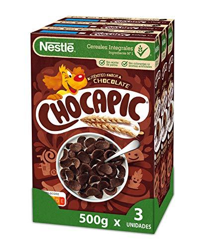 Nestlé Cereales Chocapic - 3 paquetes de 500g