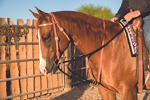 NWT Brown Leather Weaver Standing Martingale Attachment Horse