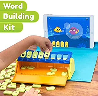 Shifu Plugo Letters - Word Building with Stories & Puzzles | 4-10 years Educational STEM Toy | Interactive Vocabulary Games | Boys & Girls Gift (App Based)