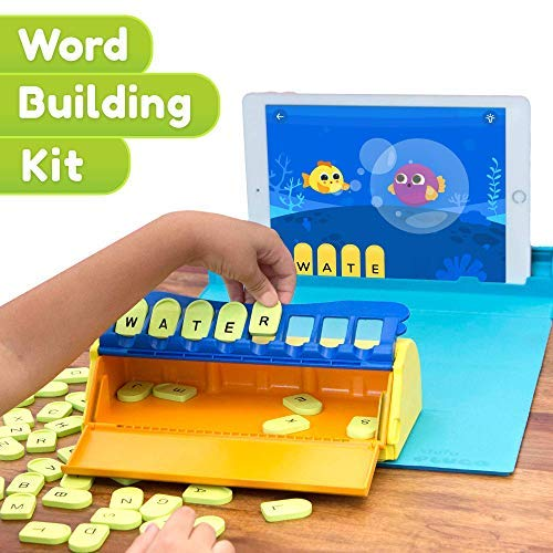 Shifu Plugo Letters  Word Building with Stories amp Puzzles | 410 years Educational STEM Toy | Interactive Vocabulary Games | Boys amp Girls Gift App Based