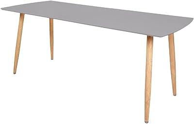 Zons Stockholm Table Extensible 140/180x80xH75cm Gris