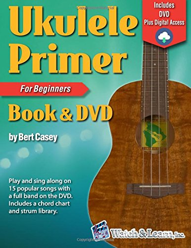 Ukulele Primer Book for Beginners with DVD