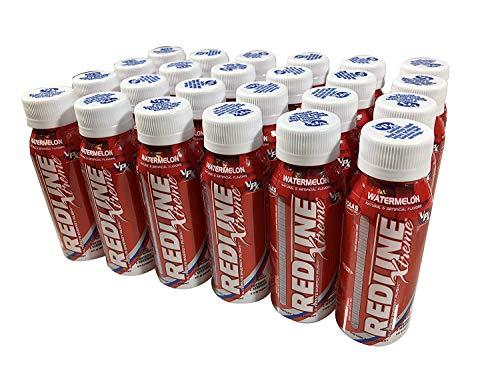 VPX Redline Xtreme, Watermelon, 8 Ounce Bottles, 24 Count