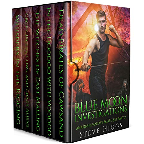Blue Moon Investigations: A Humorous Fantasy Adventure Series Boxed Set Part 2 (Blue Moon Box sets) (English Edition)