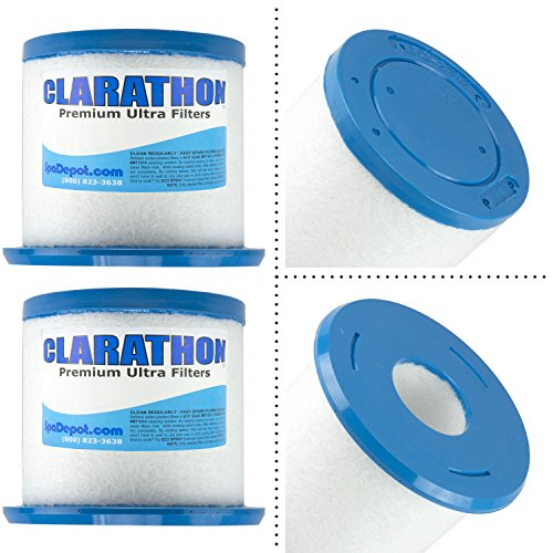 Clarathon 2-Pack Replacements for Jacuzzi Proclarity Depth Load Filter 6473-161 Premium Filters