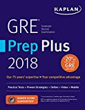 GRE Prep Plus 2018: Practice Tests + Proven Strategies + Online + Video + Mobile...