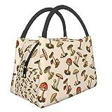 Bolsa de aislamiento portátil con setas mágicas xwf de moda portátil de aislamiento de alimentos bolsa de picnic para trabajo, escuela, viajes al aire libre, etc.