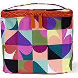 Kate Spade New York Insulated Soft Cooler Lunch Tote with Double Zipper Close and Carrying Handle, Spade Dot Geo