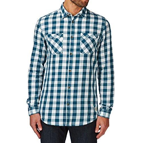 Jack & Jones Colt Shirt Two Pocket hommes, chemise , turquoise, Large EU
