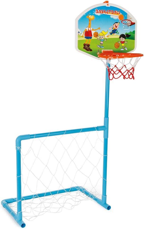 Pilsan 03-392 Magic Basketball and Football Set White
