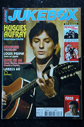 JUKEBOX 257 * 2008 * HUGUES AUFFRAY MONKEES Fac-Similé Disco Revue Richard ANTHONY