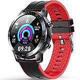 Smartwatch, Orologio Uomo Smartwatch IP68 Fitness Tracker, Monitor della Pressione Sanguigna,...