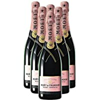 Moet and Chandon Rose Imperial Champagne NV 75 cl (Pack of 6)