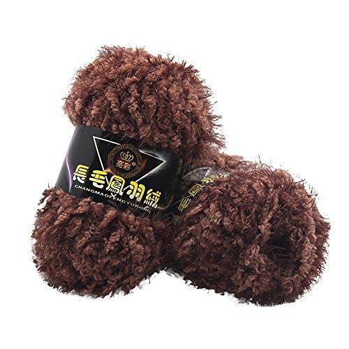 sunnymi 50g 3mm DIY Wolle Super Soft Baby Bambus Cotton Wool Häkeln Hand Stricken Kaschmir Garn Milch Baumwolle Geschenk Garn Strick Wolle Pullover Hüte Schals Decke (I, 3mm)