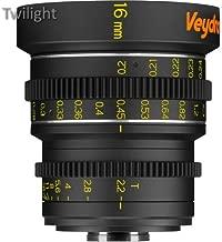 Veydra 16mm T2.2 Mini Prime Lens (C-Mount, Meters)