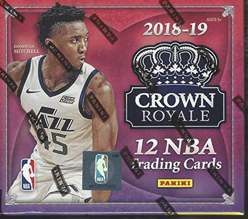 2018-19 Panini Crown Royale Basketball Factory Sealed Hobby Box - Basketball Wax Packs