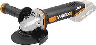 Worx WX803.9 Amoladora 125 mm 20 V S/Bat, Negro