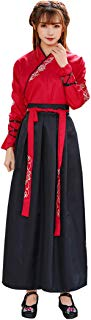 Ez-sofei Ancient Chinese Han Dynasty Traditional Hanfu Cosplay Costume for Couples