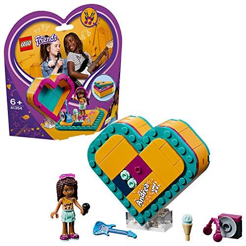 LEGO Friends Andrea's Heart Box Building Blocks for Girls