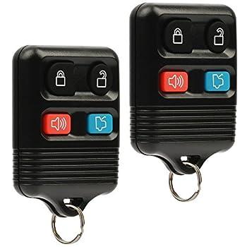Car Key Fob Keyless Entry Remote fits Ford Lincoln Mercury Mazda  CWTWB1U331 GQ43VT11T CWTWB1U345 4-btn Set of 2