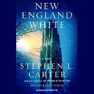New England White audiobook cover art