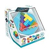 smart games Zigzag Puzzler – Puzzle 3D, Mesa niños, Juego de Viaje, Rompecabezas educativos (SG414)