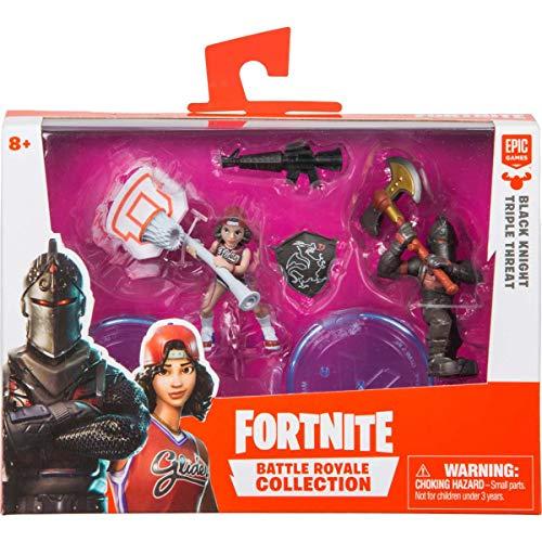 Fortnite Mini Figura Boneco 02 Personagem com Acessórios