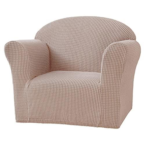 1-delat stretch soffklädsel Spandex Jacquard tyg Överdrag för soffa, fåtölj, tvättas i maskin (2st),V