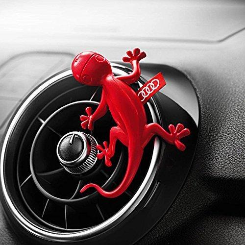 Genuine Audi Gecko Cockpit Air Freshener Red Floral fragrance