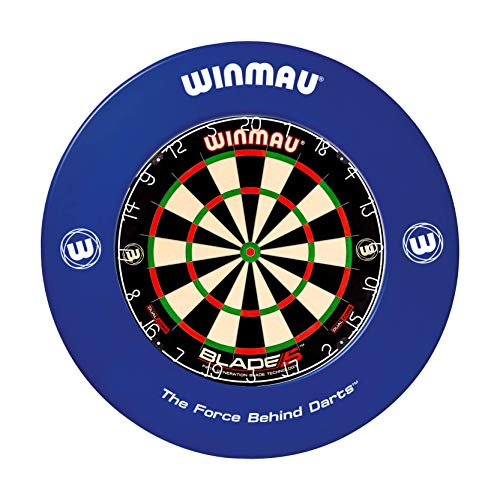 WINMAU Printed Blue Dartscheibe Surround