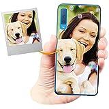 Coverpersonalizzate.it Coque Personnalisable pour Samsung Galaxy A7 2018 avec ta Photo, Image ou...