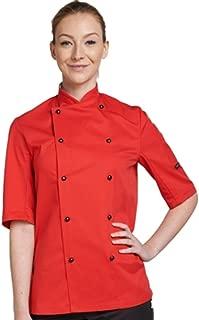 Chef's Jacket Stud Button, Technicolour Short Sleeve (DD56S)