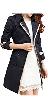 Best black crombie style women's coat Reviews