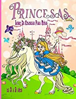 Princesas Libro De Colorear Para Niñas de 3 a 9 años: Libro de Colorear para Niños con hermosas y cariñosas Princesasexcelente regalo para niñas de 3 a 9 años de edad