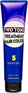 Etude House Two Tone Treatment Hair Color 150ml (#05 Fantasy blue)