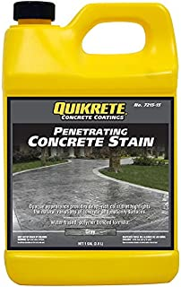 Quikrete Penetrating Concrete Stain Gray gal - 2pack