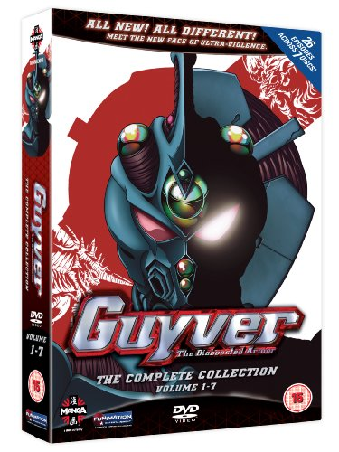 Guyver - The Bioboosted Armor Collection [DVD] (15)