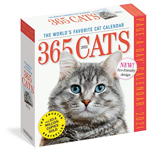 365 Cats 2021 Calendar