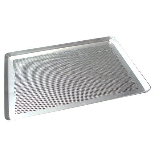 "Winco (ALXP-1318P) 13"" x 18"" Perforated Aluminum Sheet Pan, Half Size"