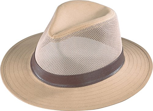 look out for save up to 80% info for Henschel Men's Safari Breezer Hat, Khaki, Large