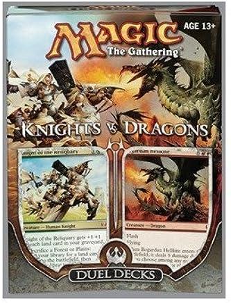Amazon.com: Magic the Gathering: MTG Duel Decks: Knights vs ...