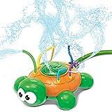 JOYIN Regadera de agua juguete Hydro Swirl Spinning Splash Turtle para niños al aire libre juego de agua diversión